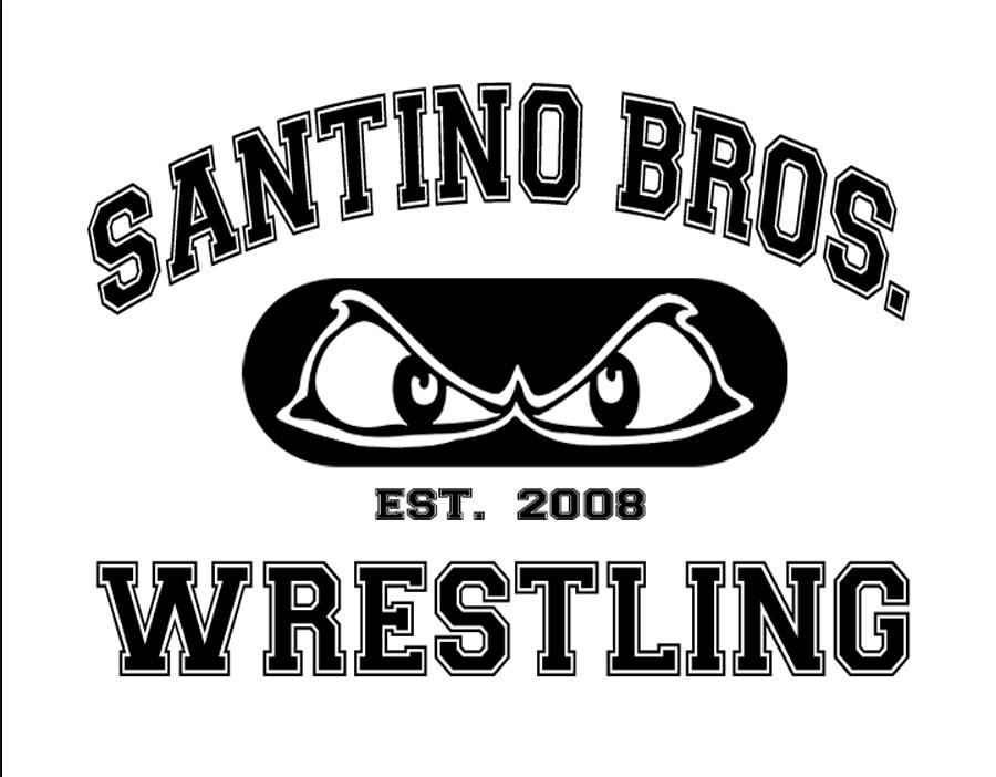 Santino Logo white