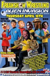 Freakshow 4-16-15 flyer