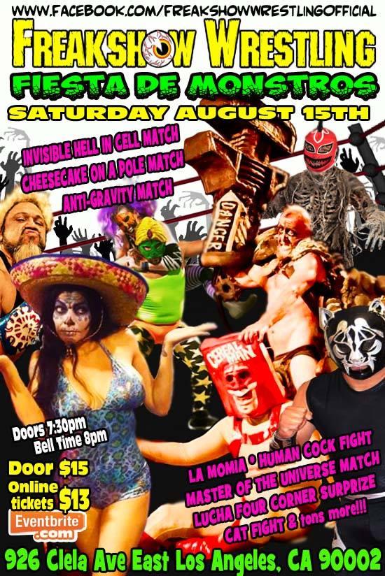 Freakshow 8-15-15 flyer