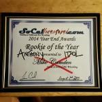 Anthony Idol's award 8-1-15